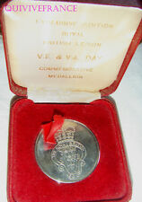 MED4370 - MEDAILLE ROYAL BRITISH LEGION VE & VJ DAY COMMEMORATIVE MEDALLION