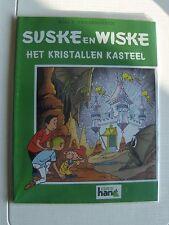 Speciale suske en Wiske Het Kristallen kasteel met groene omslagcover sc 2000