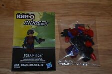 2013 Hasbro KRE-O G.I.JOE Cobra A7868 Collection 3 SCRAP-IRON Kreon Figure OOP