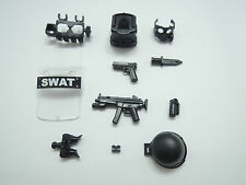 (NO.9-2) custom lego swat police helmet military gun army weapon