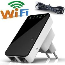 WPS Wireless 5in1 Repeater Mini Router Verstärker Wifi WLAN 300 Mbit RoHS LAN
