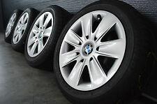 BMW 3er E90 E91 E92 E93 Winterräder 205/55 R16 91H Dunlop RFT ★ inkl. Radkappen