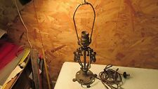 Antique Cast Iron Claw Foot Table Lamp
