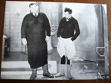 LAUREL ET HARDY PHOTO EXPLOITATION LOBBY CARD BE BIG