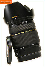 Tamron SP AF28-75mm F/2.8 XR Di LD Aspherical [IF] MACRO Lens. Canon Free UK PP