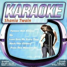 FREE US SH (int'l sh=$0-$3) NEW CD : Karaoke: Songs By Shania Twain Karaoke