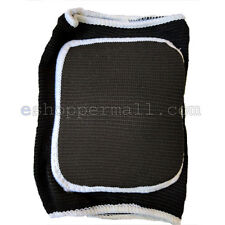 1X BLACK Sports KNEE SUPPORTER Strap Stretch Wrap Athletic Pads Brace Band BN-37