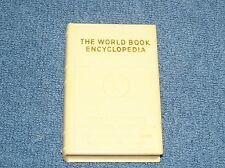 "Vintage Miniature World Book Encyclopedia Book Coin Bank 3"" x 2"""