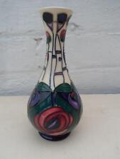 Moorcroft charles rennie macintosh vase