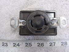 Hubbell HBL 2420 20A 250V 3Ø Twist-Lock Receptacle L15-20R, Used