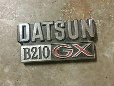 1977 DATSUN B210 GX EMBLEM