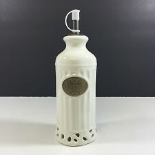 New THL Classic Off White Shabby Chic VINEGAR and OIL DISPENSERS
