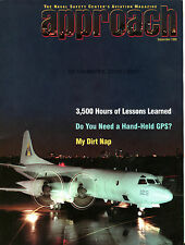Approach Magazine September 1999 My Dirt Nap EX FAA 030816jhe