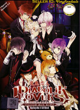 Diabolik Lovers - Haunted Dark Bridal Complete 1-12 Anime DVD  - ShipFAST