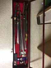 WW2 japan gunto sword collection