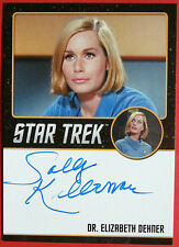 STAR TREK TOS 50th, SALLY KELLERMAN, as Dr Elizabeth Dehner, Auto VERY LIMITED