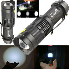 LED Flashlight 300LM Torch Ultrafire CREE Bulb Light Lamp Flash outdoor 3 Mode