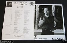 KIM WILSON 'THAT'S LIFE TOUR' 1994 PRESS KIT—PHOTO