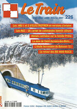 LE TRAIN N°226 ABJ 1 ET 2 / GARE DE SAINT-JACQUES-DES-BLATS / BB 4600 ROCO