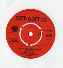 "Percy Sledge - When A Man Loves A Woman 7"" Singe 1966"