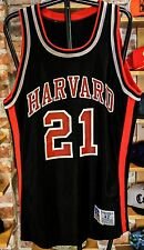 Vtg Ncaa college Harvard University Ivy basketball Usa champion size 42 jersey