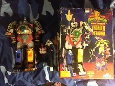 Rare 1994 Mighty Morphin Power Rangers Remote Controlled Thunder Megazord BOXED