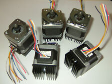 5 x NEMA 17 Stepper Motor - Mill Robot RepRap Makerbot Prusa 3D Printer Heatsink