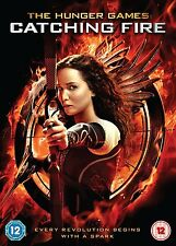 THE HUNGER GAMES CATCHING FIRE    BRAND NEW SEALED GENUINE UK DVD