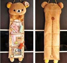 Rilakkuma San-X Yipad Wall Hanging Storage Bag 3 Pockets