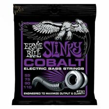 ERNIE BALL COBALT BASS 2731 Power Slinky 4-STRINGA STRINGHE DI 55 - 110
