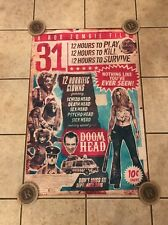 VINTAGE STYLE ROB ZOMBIE 31 POSTER DEVILS REJECTS HALLOWEEN HOUSE OF 1000 CORPSE
