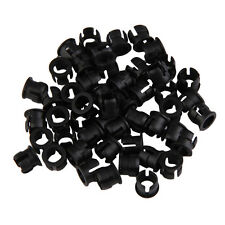 50pcs 5mm Plastic LED Panel Holder Holders Clips Bezels Mounts Cases Housings