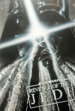 STAR WARS REPRO FILM MOVIE POSTER REVENGE OF THE JEDI CONCEPT TREATMENT .NOT DVD