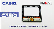 VINTAGE GLASS CASIO GM-5 NOS