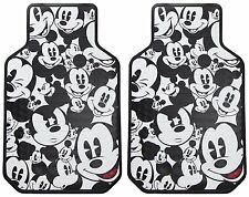 Mickey Mouse Car Floor Mat Set Auto SUV Front Carpet Waterproof Disney Vehicle