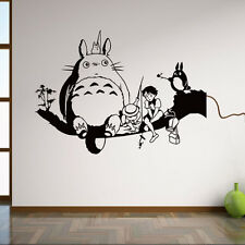 My Neighbor Totoro Removable Wall Stickers Room Mural Decals DIY Home Decor Art