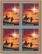 4813a Holy Family Imperf Block of 4 from Press Sheet No Die Cuts Christmas 2013