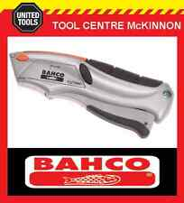BAHCO SQUEEZE RETRACTABLE UTILITY / STANLEY KNIFE WITH 6 BLADES