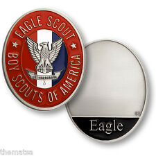 EAGLE SCOUT BOY MADE IN USA CHALLENGE COIN IN  PRESENTATION BOX