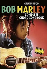 Bob Marley Complete Chord Songbook Learn Reggae Guitar Lyrics Music Book