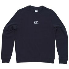 CP Company Chest Logo Crewneck Sweatshirt In Navy BNWT