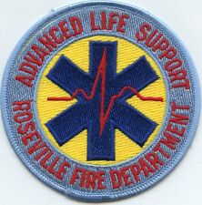 ROSEVILLE CALIFORNIA CA Advanced Life Support FIRE PATCH