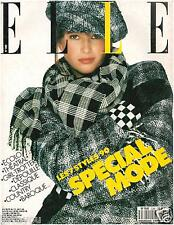 ▬►Elle 2280 (1989) Angie Everhart_Fanny Ardant_Issermann_Cabrel_Mode Fashion