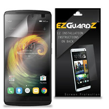 1X EZguardz LCD Screen Protector Shield HD 1X For Lenovo Vibe K4 Note (Clear)