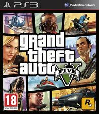 Grand Theft Auto 5 (GTA V) - PS3 PlayStation 3 - GIOCO PAL ITA - NUOVO su DVD