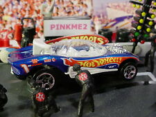 1999 Race Team III Design SILHOUETTE II✰Blue;5sp; 1✰LOOSE✰Hot Wheels