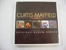 CURTIS MAYFIELD - ORIGINAL ALBUM SERIES - 5CD BOXSET NEW SEALED 2013