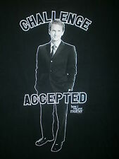 CHALLENGE ACCEPTED T SHIRT How I Met Your Mother Barney Stinson XL