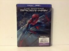 The amazing spiderman - limited edition steelbook (blu-ray) *NEW*