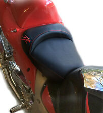 99-02-04-05-06-07 Hayabusa Custom Shaped/Covered Front Seat w/Red Embroidering